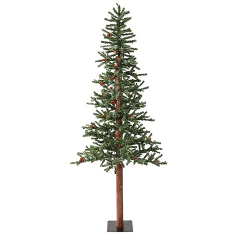 shop vickerman 6 ft indoor winterberry pre lit frosted
