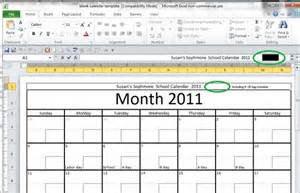 Blank Calendars To Type In » Home Design 2017