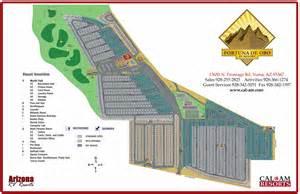 rv parks arizona map fortuna de oro rv resort in yuma az for 55 park model