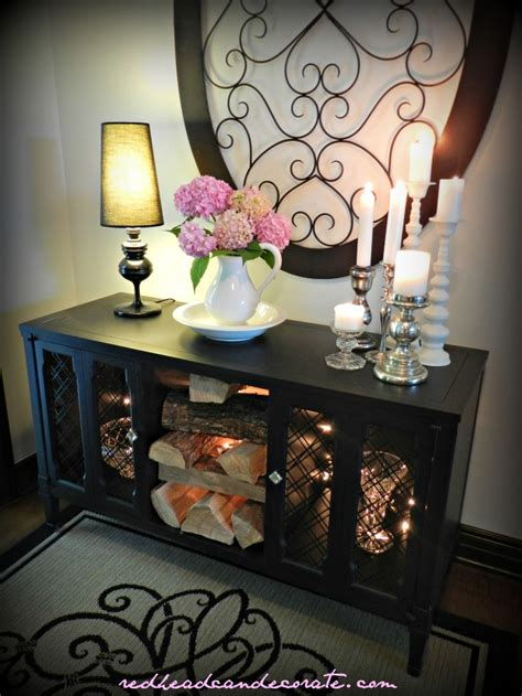 thrift store diy home decor diy black stereo console makeover w thrift store water