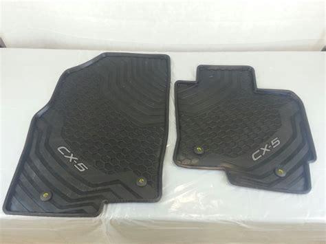 new genuine mazda cx 5 ke rubber floor mats cx5 2012 01