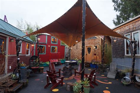 tiny house hotel portland grown up getaway portland alberta arts district and tiny