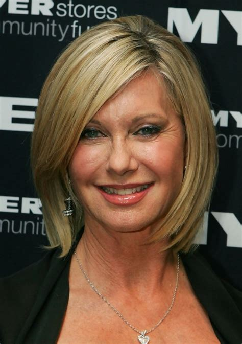 olivia newton john hairstyles olivia newton john short hairstyle for women over 50s 60s