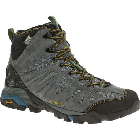 waterproof hiking boots for merrell capra hiking boots waterproof mid 654070