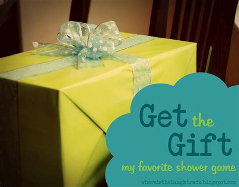 baby shower pass the prize or get the gift