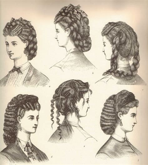 industrial revolution girls hairstyles glamorous victorian hairstyles for women