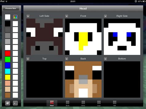 minecraft wolf skin template images