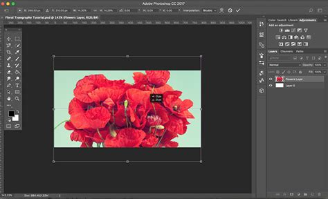 photoshop typography tutorial download create stunning floral typography with photoshop