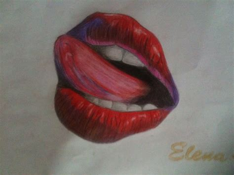 lips tattoo drawing by classyanddivine on deviantart