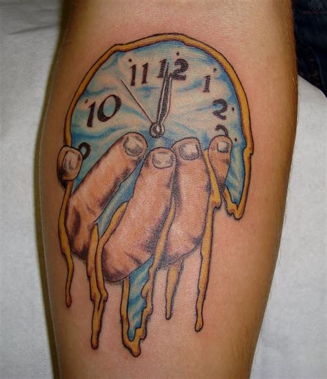 melting clock tattoo meaning tatuajes basados en el arte de salvador dal 237 http www