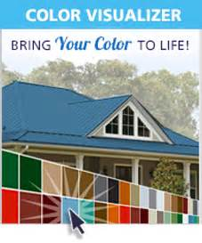 metal roof colors simulator metal roof and siding color combinations quotes