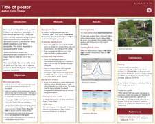 academic poster template powerpoint a2 poster templates research poster presentations