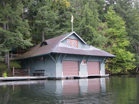 a boat house file boat house on spitfire lake jpg