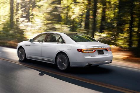 lincoln continental 2017 lincoln continental first look review