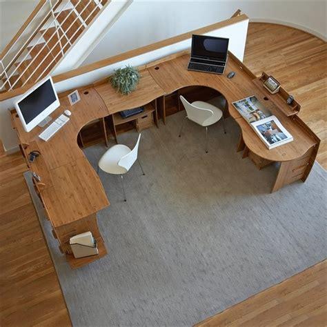 T Shaped Office Desk 17 Best Images About U Shaped Desk Designs On Pinterest Butcher Blocks Computer Desks And Shape