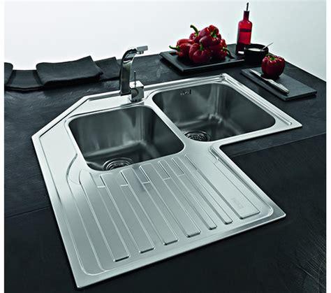 franke studio stx 621 e stainless steel corner inset sink