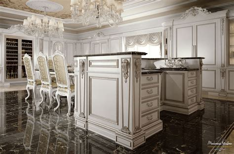 Classic Kitchen Cabinet Kitchen Deluxe Ivory Version Kitchen Kitchens Collection Modenese Gastone