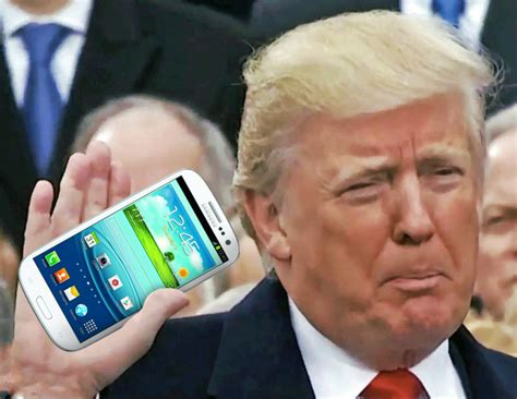 what phone does president trump use what phone does president trump use donald trump is still