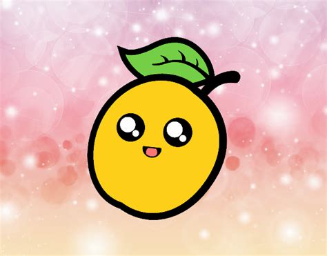 imagenes de frutas kawaii para colorear dibujos caritas con limon related keywords dibujos