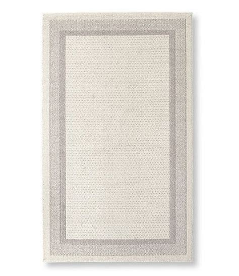 llbean home rugs easy care border rug indoor rugs at l l bean made in the usa stains home and
