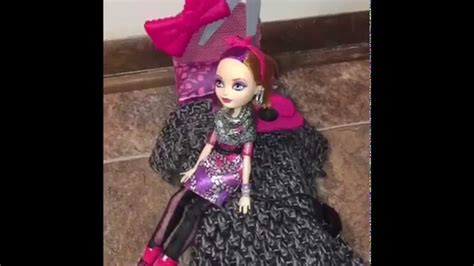 ever after high beds a custom bed for my ever after high poppy o hair doll