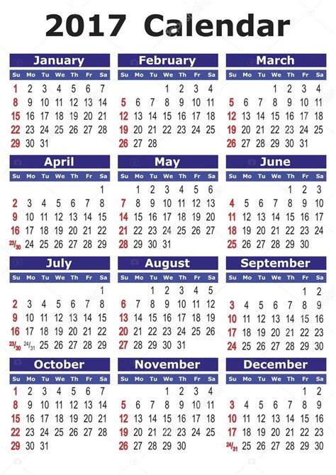 simple vector calendar  stock vector  alfonsodetomas