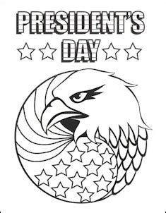 preschool coloring pages presidents day president s day coloring page