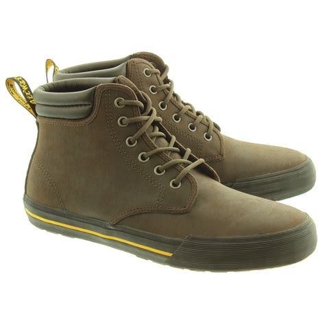dr martens for mens boots dr martens mens eason lace boots in brown in brown