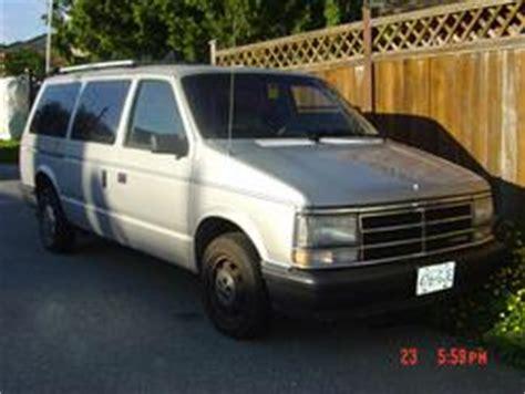 1985 dodge caravan janice masters summers 1985 dodge caravan cargo specs