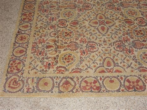Pottery Barn Helios Printed Rug Terracotta Red 5x8 Ebay Pottery Barn Rugs Ebay