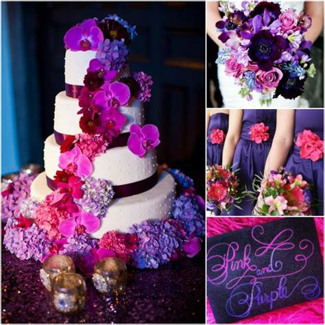 108 best images about coral purple pink bling wedding on