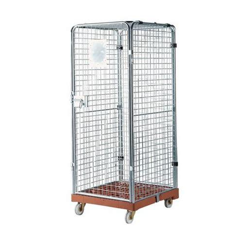 portata container roll container di sicurezza base in plastica portata