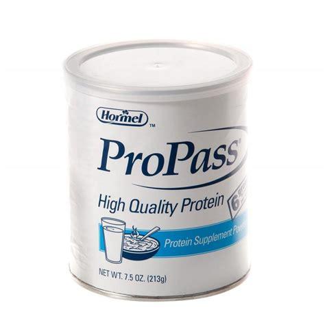 g supplements propass powder protein supplement 8 0 g hormel health