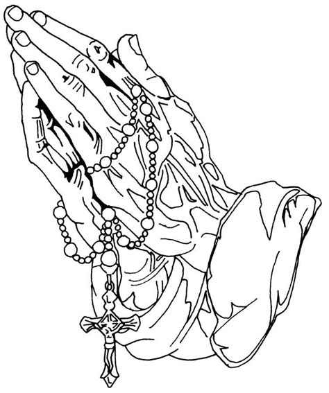 coloring page of praying hands coloring pages of praying hands coloring home