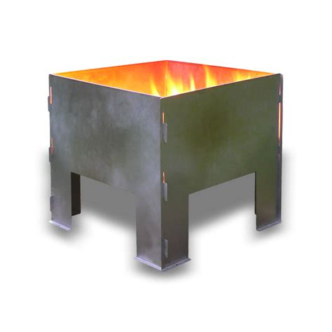 Flat Packed Portable Fire Pit From Boutique Cing Uk Portable Firepits