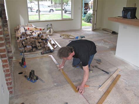 Diy Barnwood Flooring by Diy Reclaimed Wood Flooring