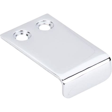 tab pulls hardware top knobs decorative hardware tk101pc edge pulls