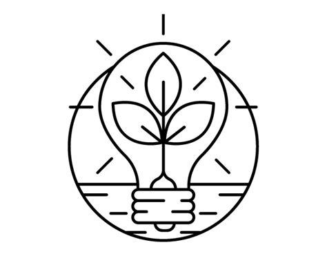 imagenes de ahorro energetico para colorear apexwallpapers com dibujo de bombilla con hojas para colorear dibujos net