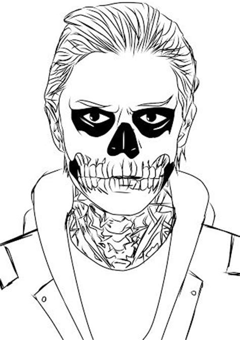 story coloring book colouring in american horror stories and horror stories