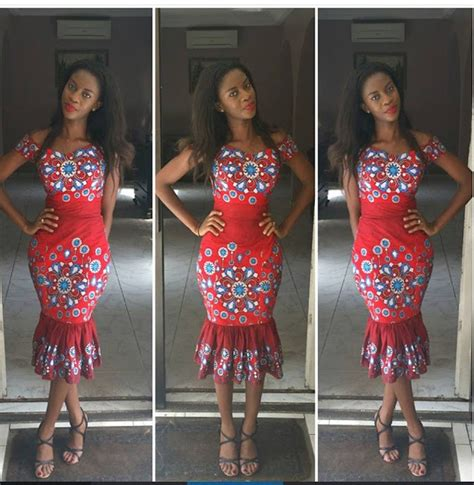 simple ankara styles short gown debonke house of fashion simple ankara short gown for ladies debonke house of fashion