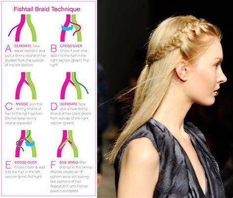 braids to do fishtail braid step by step redcarpetgirls