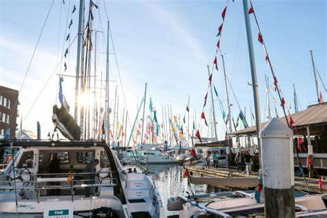 newport boat show fall 2018 conde nast traveler names newport among 10 secret fall