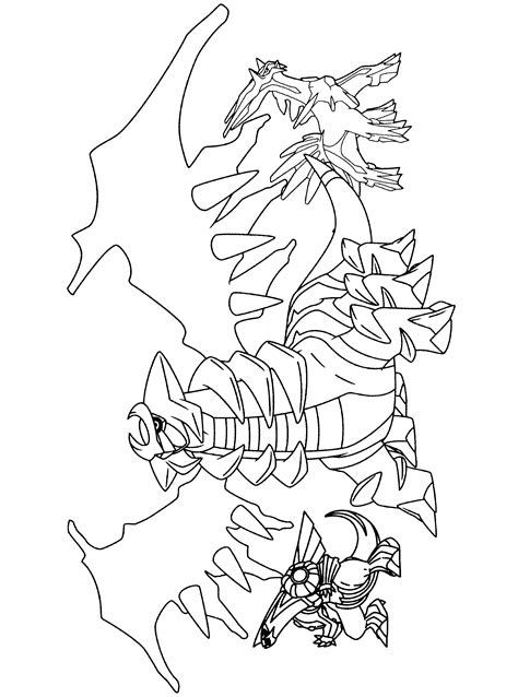 pokemon coloring pages giratina legendary pokemon giratina coloring pages coloring pages