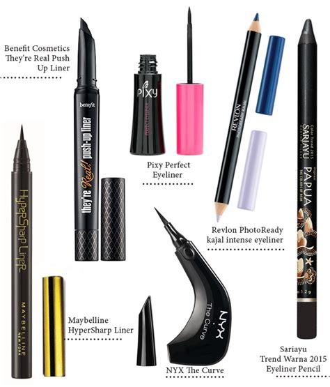 Eyeliner Pensil Sariayu bentuk spidol hingga pensil 6 tipe eyeliner untuk percantik mata