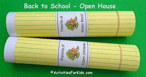 open house themes elementary schools classroom open house ideas for teachers