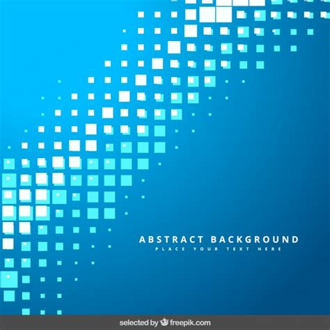 pixelated background blue pixelated background vector free