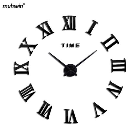 cool wall clock promotion online shopping for promotional 2017 promotion new home decorlarge roman mirror fashion