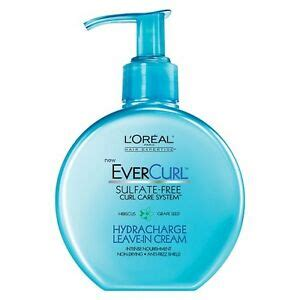 review demo l oreal evercurl l oreal 174 hair expertise evercurl hydracharge leave in 6 10 oz ebay