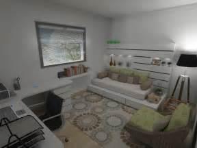 o home decora 231 227 o home office e quarto de visitas limaonagua