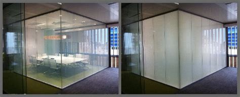 smart glass switchable glass which changes from clear to opaque